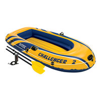 Intex Challenger 200 Inflatable Boat Set