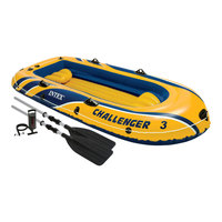 Intex Challenger 300 Inflatable Boat Set
