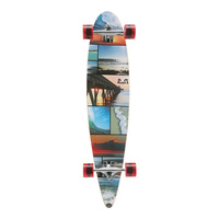 Punked Pintail Longboard