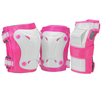 Roller Derby Youth's Cruiser Protective Pads - 3-Pack