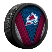 SHER-WOOD NHL Colorado Avalanche Hockey Puck