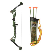 NKOK Real Tree Junior Compound Bow Set