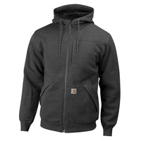 Carhartt Men's Rain Defender Rockland Quilt-Lined Hooded Sweatshirt
