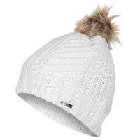 Chaos Women's Tyler Fancy Stitch Pom Beanie