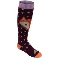 Hot Chilly's Youth's Little Fox Mid Volume Winter Sport Socks