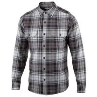 Wolverine Mens' Glacier Heavyweight Long-Sleeve Flannel Shirt
