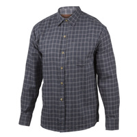 Marino Bay Men's 1-Pocket Flannel Shirt