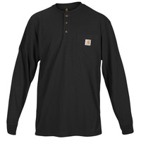 Carhartt Men's Pocket Long-Sleeve Henley Shirt