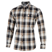 Carhartt Men's Trumbull Plaid Flannel Shirt