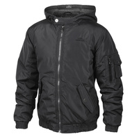 Pacific Trail Boys' Bomber Jacket with Fleece Hood