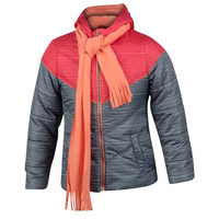 Pacific Trail Girls' Jacket with Scarf