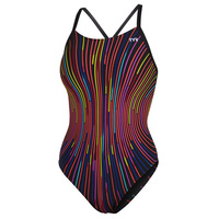 TYR Women's Supersonic Diamond Back One-Piece Swimsuit