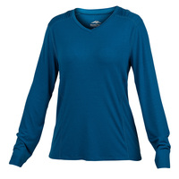 Pacific Trail Women's Long-Sleeve V-Neck Sun Tee
