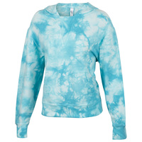 Activ8 Women's French Terry Tie-Dye Pullover