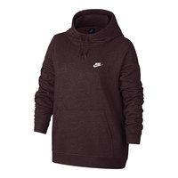 Nike Women's Sportswear Club Funnel-Neck Plus Hoodie