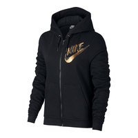 Nike Women's Sportswear Full-Zip Metallic Hoodie