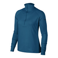 Nike Women's Pro Long-Sleeve 1/2-Zip Top