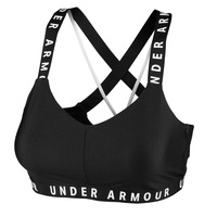 Under Armour Women's Wordmark Strappy Sports Bra