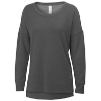 Balance Women's Lacey Long-Sleeve French Terry Top