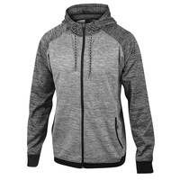 Burnside Men's Fleece Hooded Jacket