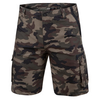 Burnside Men's Camo Microfiber Cargo Shorts