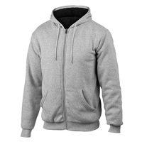 PNW Men's Sherpa-Lined Fleece Hoodie