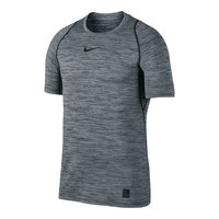 Nike Men's Heather Fitted Short-Sleeve Pro Top