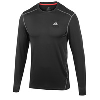 Russell Athletic Men's Long-Sleeve Fitted Crew Top