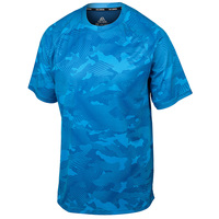 TEC-ONE Men's Unstoppable Camo Short-Sleeve Shirt