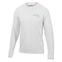 Reel Life Men's Circle Hook Wave Performance T-Shirt