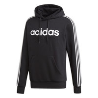 adidas Men's Essentials 3-Stripes Pullover Fleece Hoodie