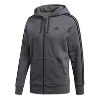 adidas Men's Essential 3-Stripe Full-Zip Hoodie