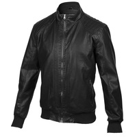Bleau Grandeur Men's Moto-Style Faux-Leather Jacket