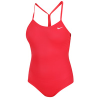 Nike Girls' Solid Skinny Strap One-Piece Swimsuit