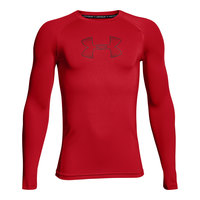 Under Armour Boys' HeatGear Armour Long-Sleeve Compression Top
