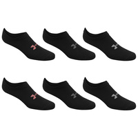 Under Armour Women's Essential No Show Socks - 6-Pack
