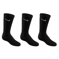 Nike Youth's Performance Training Crew Socks - 3-Pack