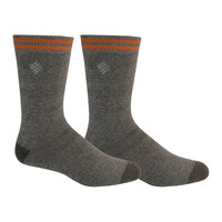 Columbia Men's Medium Weight Thermal Crew Socks - 2-Pack