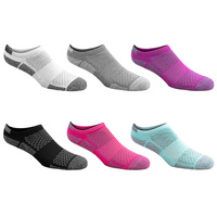 Sof Sole Women's All Sport No-Show Socks - 6-Pack