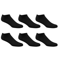 Sof Sole Women's Cushioned No-Show Socks - 6-Pack