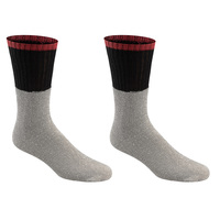 Sawkhaus Men's Assorted Thermal Boot Socks - 2-Pack