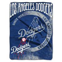 The Northwest Company Official MLB Slice Silk-Touch Throw Blanket