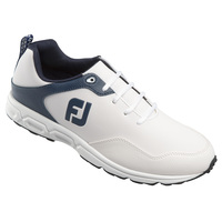 Foot Joy Athletics White/Navy Men's Golf Shoes