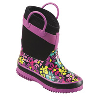 Western Chief Daisy Shower Youth's Cold-Weather Boots