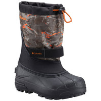 Columbia Powerbug Plus II Print Youth's Cold-Weather Boots