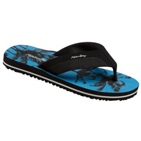 Maui & Sons Palms Print Youth's Flip Flop Sandals