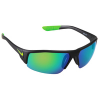 Nike Skylon Semi-Rimless Sport Wrap Sunglasses