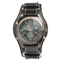 Regimen Men's Dual Time Chronograph Watch