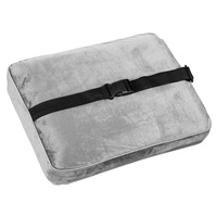 Bon Voyage Memory Foam Square Pillow with Buckle