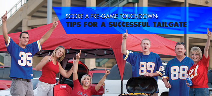 Score a Pre-Game Touchdown:  Tips for a Successful Tailgate